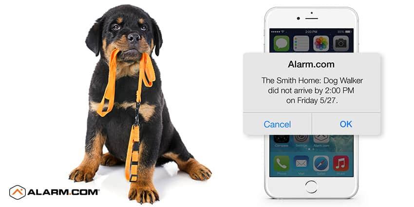 Alarm.com At Home Assistant