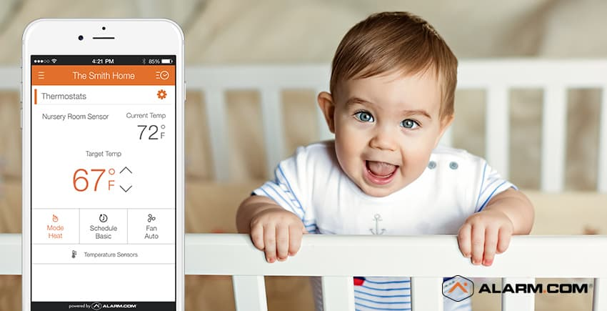 Create a Smart Nursery for Your New Baby