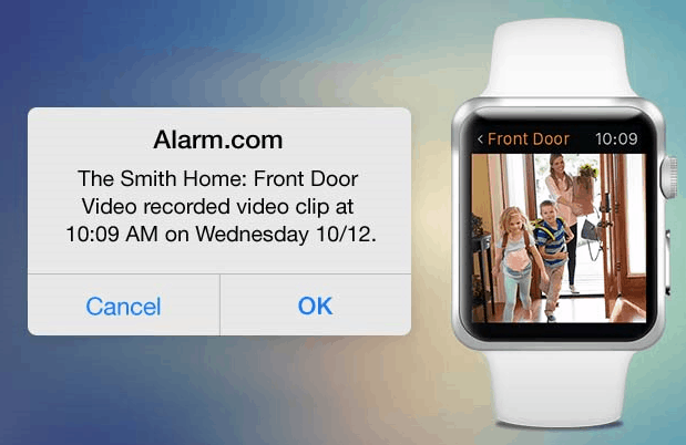 Let Alarm.com Be Your Eyes When You're Away