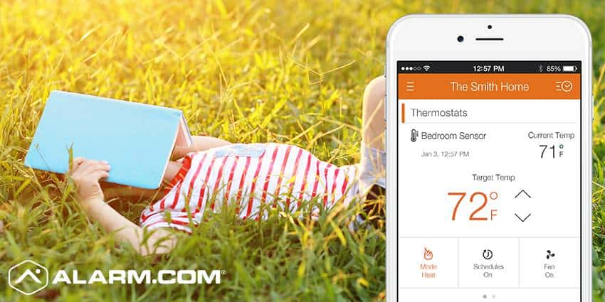 Save Energy this Summer with Help from Alarm.com
